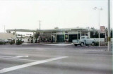1965 - a Standard Oil gas station on Bird Road west of the Palmetto, Miami