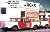 1950's - Jack's Hot Dogs, NW 54th Street and 13th Avenue, Miami, Florida