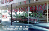 1961 - J. D. Ball Ford dealership at 9000 NW 7 Avenue, Miami