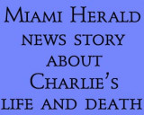10/7/07 - Miami Herald news story about Charlie Baxter's life and death