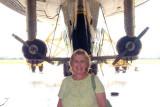 September 2007 - Karen and the Goodyear Blimp N2A Spirit of Innovation