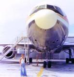 YN2 Karen Sherfick and National Airlines DC10-10 N69NA