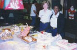 Early 1990s - YN3 Kathy Esty Feyer and YN3 Cynthia R. Murray at USCG Air Station Miami