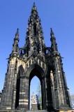 Scott Monument, Edinburgh.