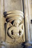 Angel with Heart of Robert Bruce, Rosslyn Chapel, Rosslyn.