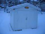 The Construction of the Astro Shed in Sweden.