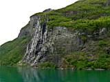 A Geirangerfjord seven sisters falls    1964