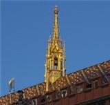 Golden bell tower