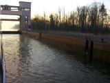 In lock near Basel