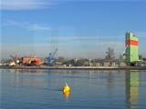 Rhine coal depot