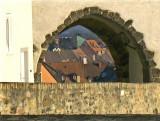 Hagenbach Tower archway