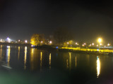 Rhine at night
