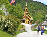 A Balestrand stave church   595
