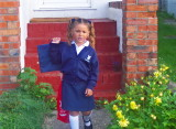 LAURYN'S FIRST DAY AT SCHOOL