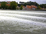 THE WEIR ON THE LECH AT LANDSBERG . 1