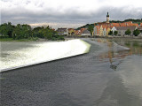 THE WEIR ON THE LECH AT LANDSBERG . 2