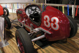 1938 Dreyer Model B Oval Track Race Car with  4-cylinder Ford engine. ISO 400, 1/3.8 sec., f/2.7.