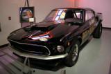 1969 Ford Mustang Boss 429 Factory Drag Racer with 429 cid, 600+ hp V8. ISO 400, 1/6 sec., f/2.7.