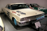 Dan Gurney's 1963 1/2 Ford Galaxie NASCAR Racer with 427 cid, 410 hp V8. ISO 100, 1/2.6 sec., f/2.7.