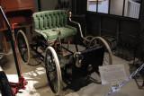 Replica of 1896 Ford Quadracycle. ISO 800, 1/12.6 sec., f/2.7.
