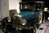 1927 Whippet Model 96 Sedan. ISO 200, 1/4.7 sec., f/2.7.