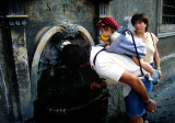 There are ancient drinking fountains all over Rome. 1982.