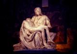 Michelangelo's Pieta, St. Peter's Basilica, Vatican, 1982.