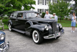 1941 Packard 160 at Ladew Topiary Gardens