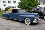 1947 Lincoln at Ladew Topiary Gardens