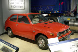 1977 Honda Civic. The Civic was one of the first popular Japanese imports.
