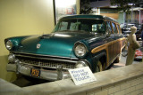 1955 Ford Country Squire station wagon.