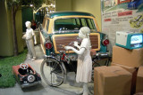 Kidillac pedal car and 1953 Schwinn Panther bicycle.