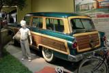 The station wagon became a symbol of postwar suburban life.