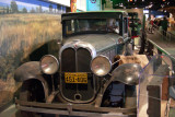 The 1929 Oakland All-American Six sedan was a moderately priced, mass-produced luxury car.