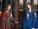 (6) Jan van Eyck, The Annunciation, 1434/1436