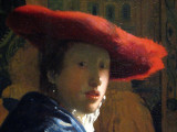 Johannes Vermeer, Girl With the Red Hat, 1665/1666