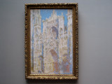 (10) Claude Monet, Rouen Cathedral, West Facade, Sunlight, 1894