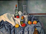 (12) Paul Cezanne, The Peppermint Bottle, 1893/1895