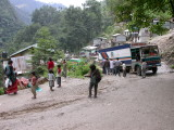 Nepal Zangmu border