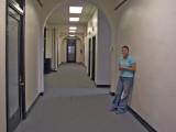 Hallway in Law & Commerce Building