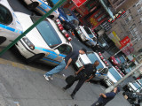 Shift Change, NYPD 5th Precinct Station