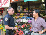 Talking with the local green grocers 1