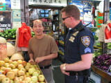 Talking with the local green grocers 2