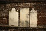 three headstones