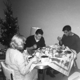 Christmas dinner with shipmates