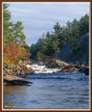 Shooting Rapids on the Little Moose River