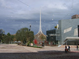 The art precinct and federation square