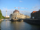 Museum Insel and the river Spree