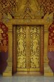 Luang Prabang Temple Door