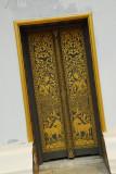 Luang Prabang Black and Gold Door